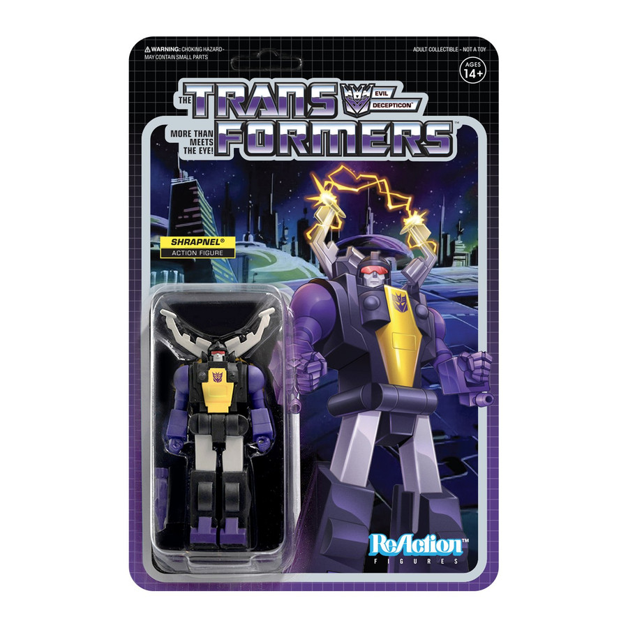Transformers X Super 7 - Transformers ReAction: Shrapnel