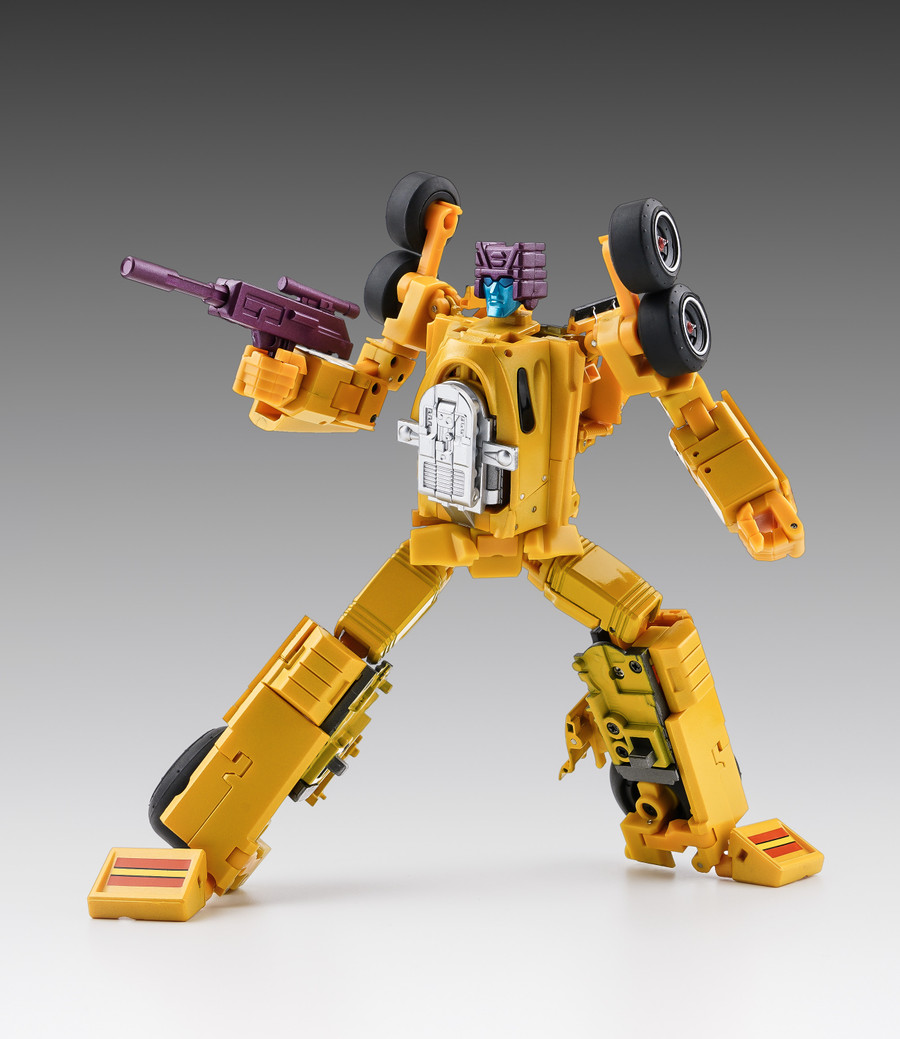 X-Transbots - Monolith Combiner MX-16T Overheat Youth Version