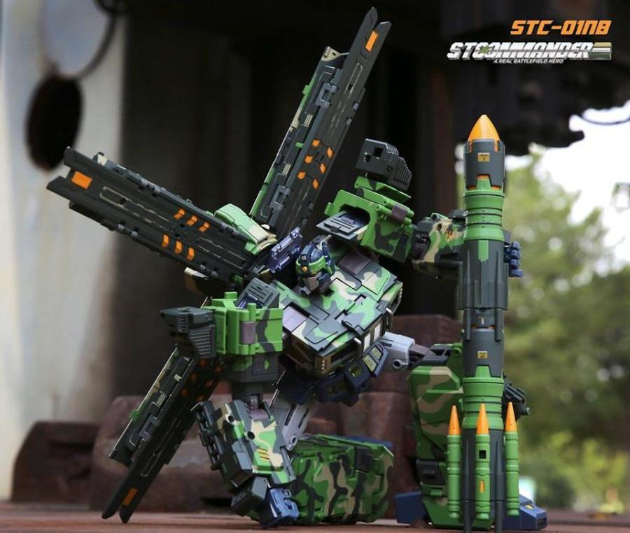 TFC - STC-01NB Supreme Tactical Commander (Nuclear Blast Version)