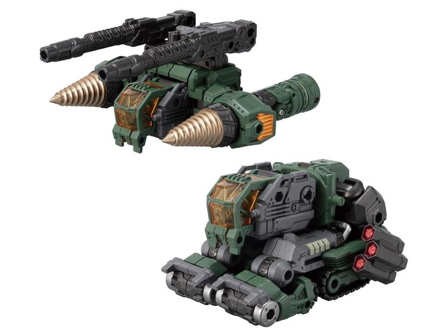 Diaclone Reboot - DA-51 Tiyverse Tridigger (Cosmo Version) Exclusive