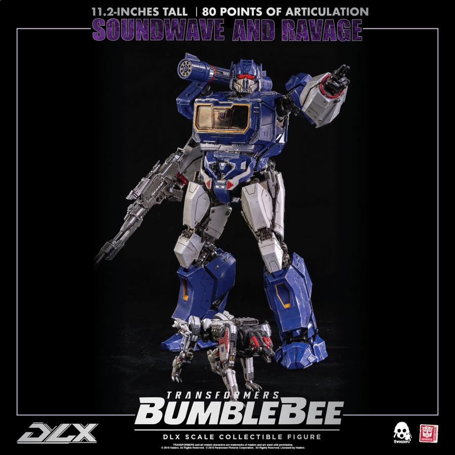 Threezero (ThreeA) - Bumblebee Movie: DLX Soundwave and Ravage