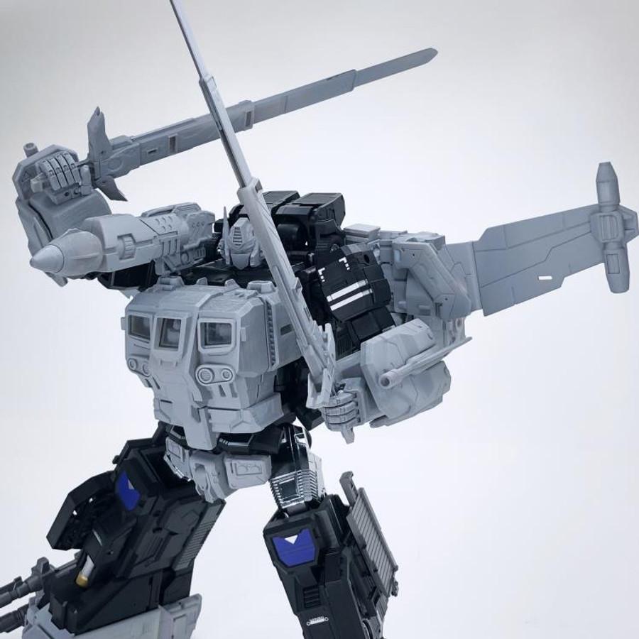 Fans Hobby - Master Builder MB-11A Black God Armor