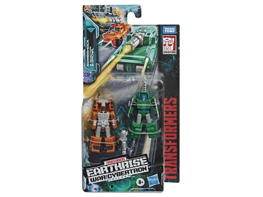Transformers War for Cybertron - Earthrise - Micromaster Military Patrol