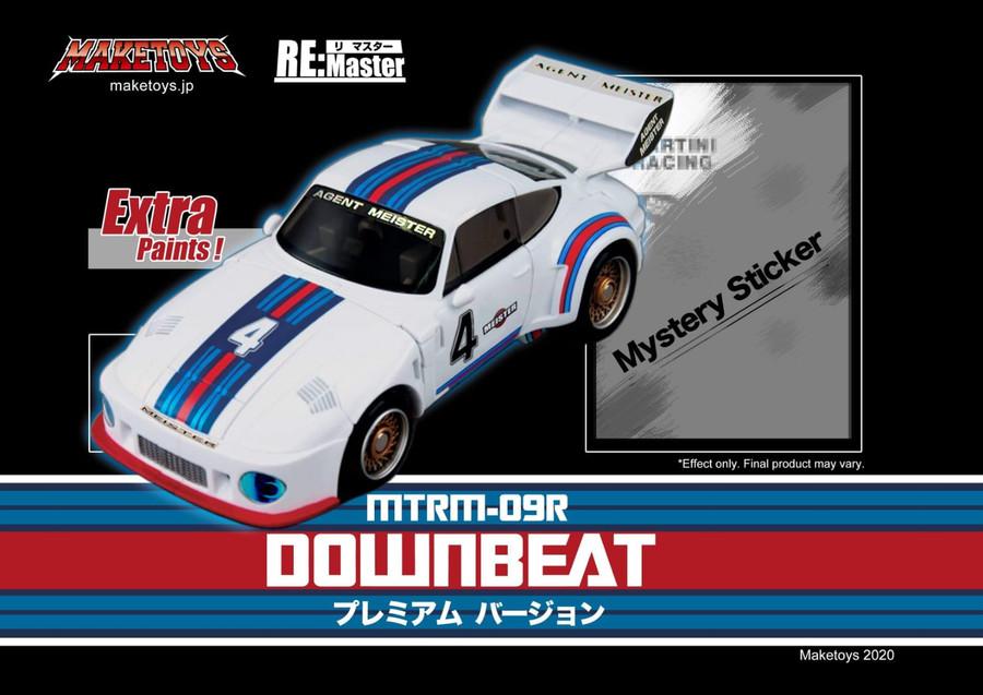Maketoys Remaster Series - MTRM-09R Downbeat Premium Version