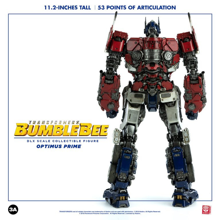 Threezero - Bumblebee Movie: DLX Optimus Prime (3rd Batch)