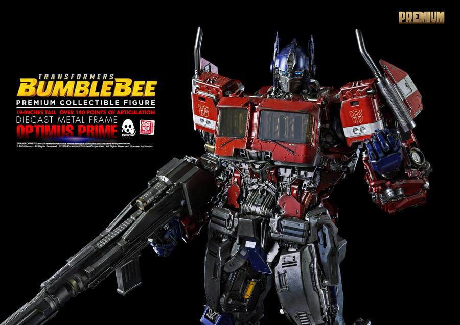 Threezero - Bumblebee Movie: Premium Optimus Prime
