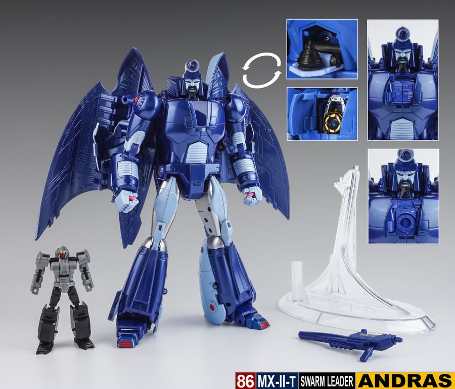 X-Transbots MX-2T Andras (Cartoon Version)