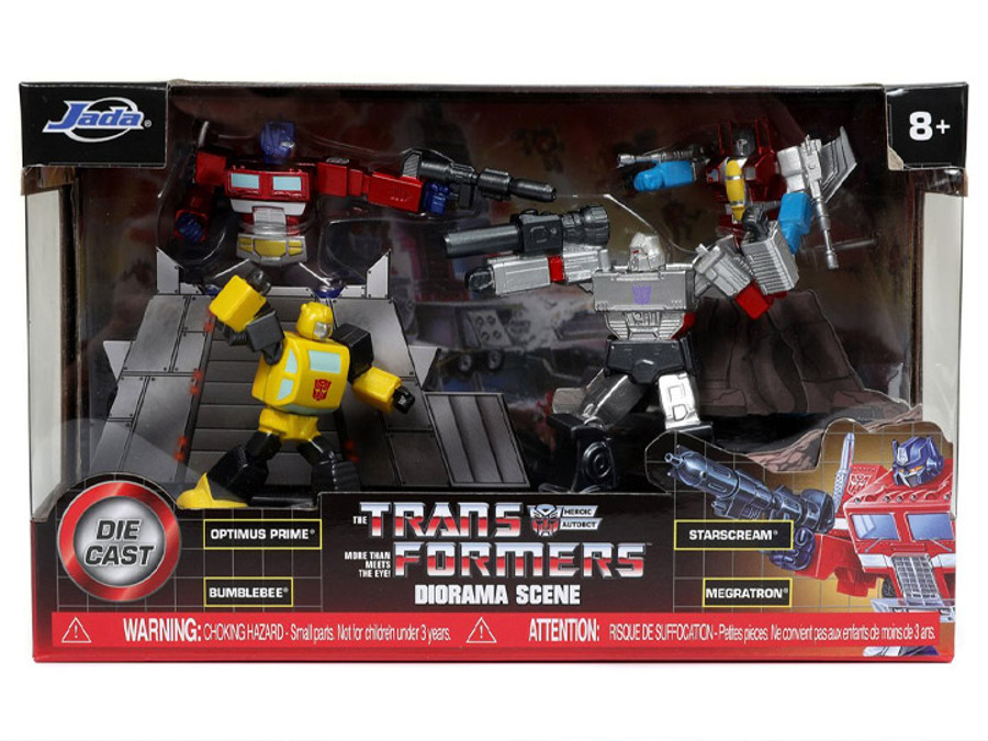 Jada Toys - Transformers G1 - Metalfigs Diorama Scene Box Set