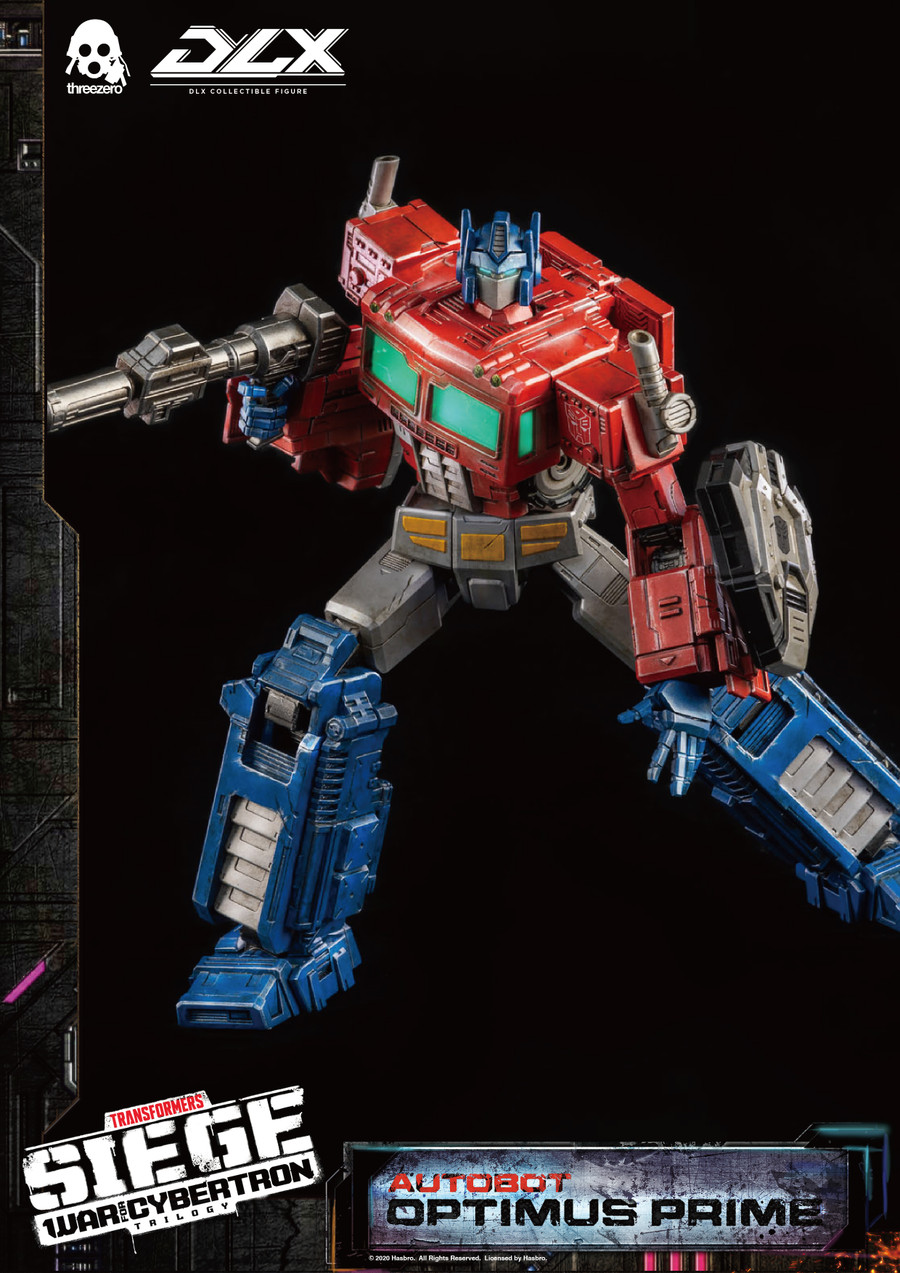 Threezero - Transformers War For Cybertron Trilogy - DLX Optimus Prime
