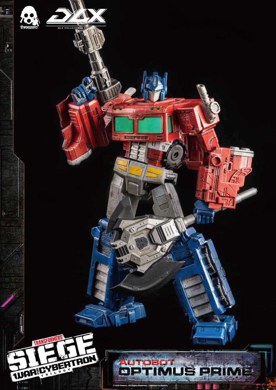 Threezero - Transformers War For Cybertron Trilogy - DLX Optimus Prime