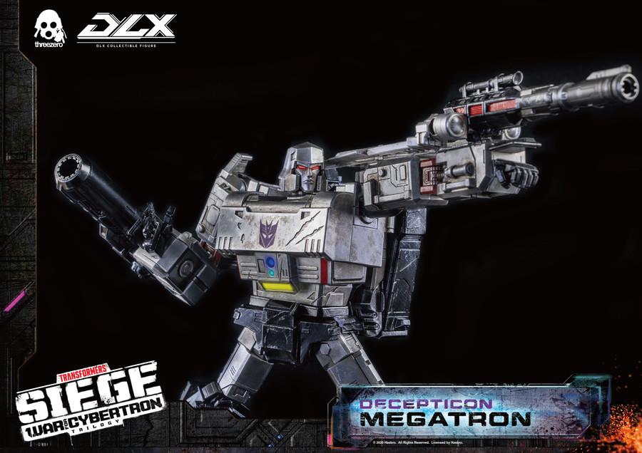 Threezero - Transformers War For Cybertron Trilogy - DLX Megatron
