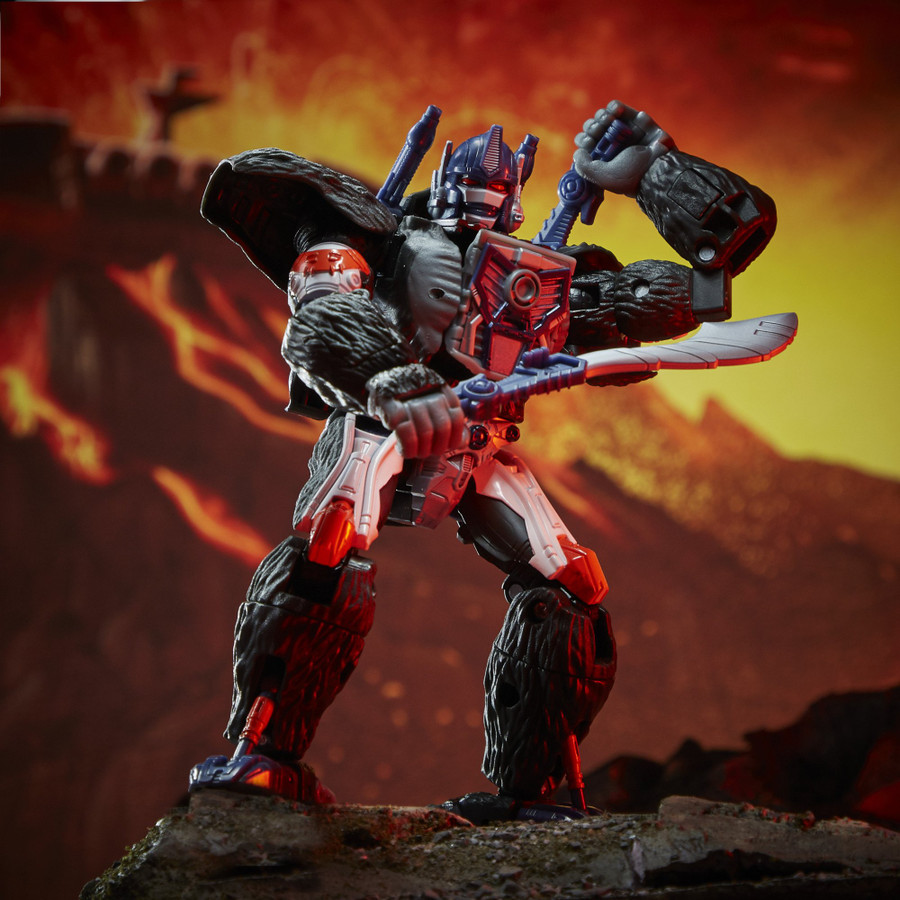 Transformers War for Cybertron: Kingdom - Voyager Class Optimus Primal