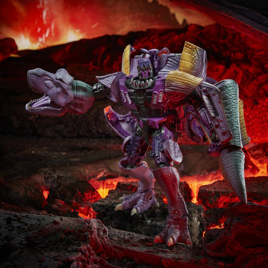 Transformers War for Cybertron: Kingdom - Leader Class Megatron (Beast Wars)
