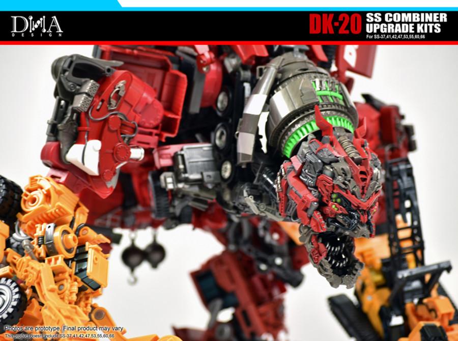 DNA Design - DK-20 Studio Series Combiner Devastator Upgrade Kit