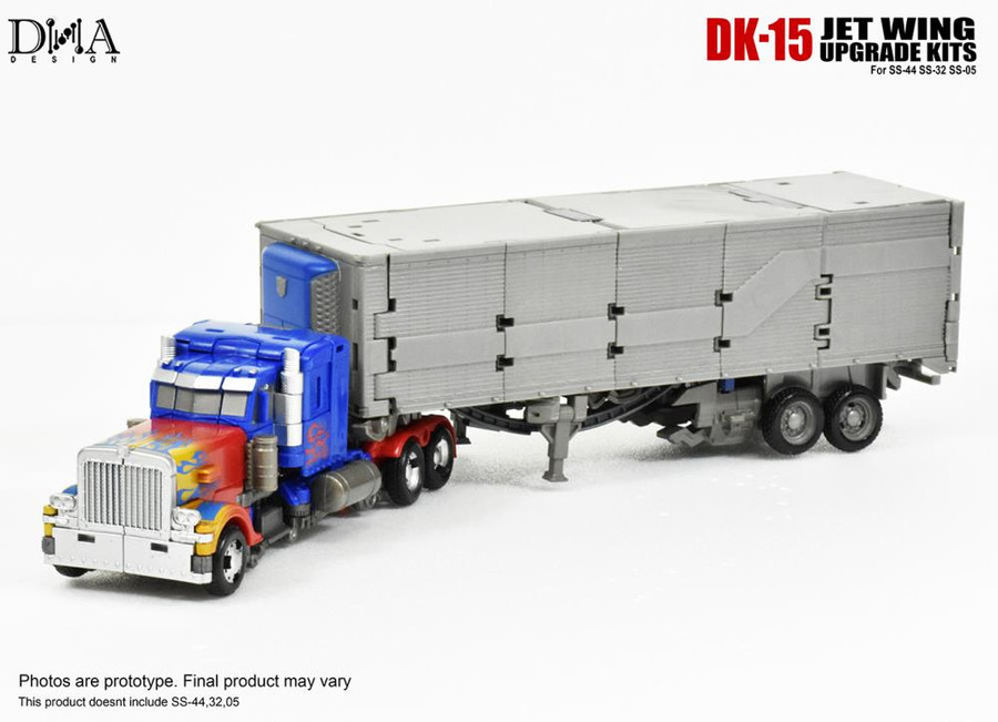 DNA Design - DK-15 Studio Series Optimus Prime Normal Upgrade Kit