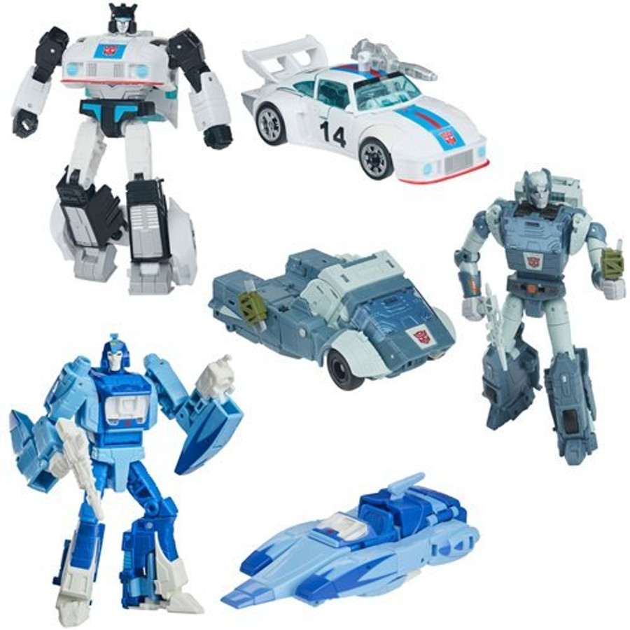 Transformers Studio Series 86 - The Transformers: The Movie Deluxe Set of 3 (2nd Shipment)