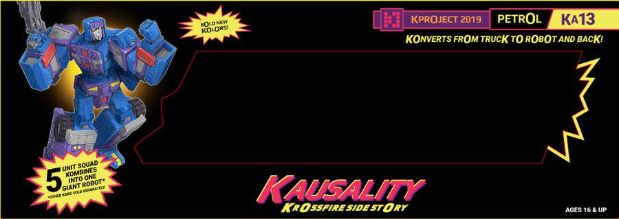 FansProject - Kausality KA-13 Petrol (A3U Exclusive)
