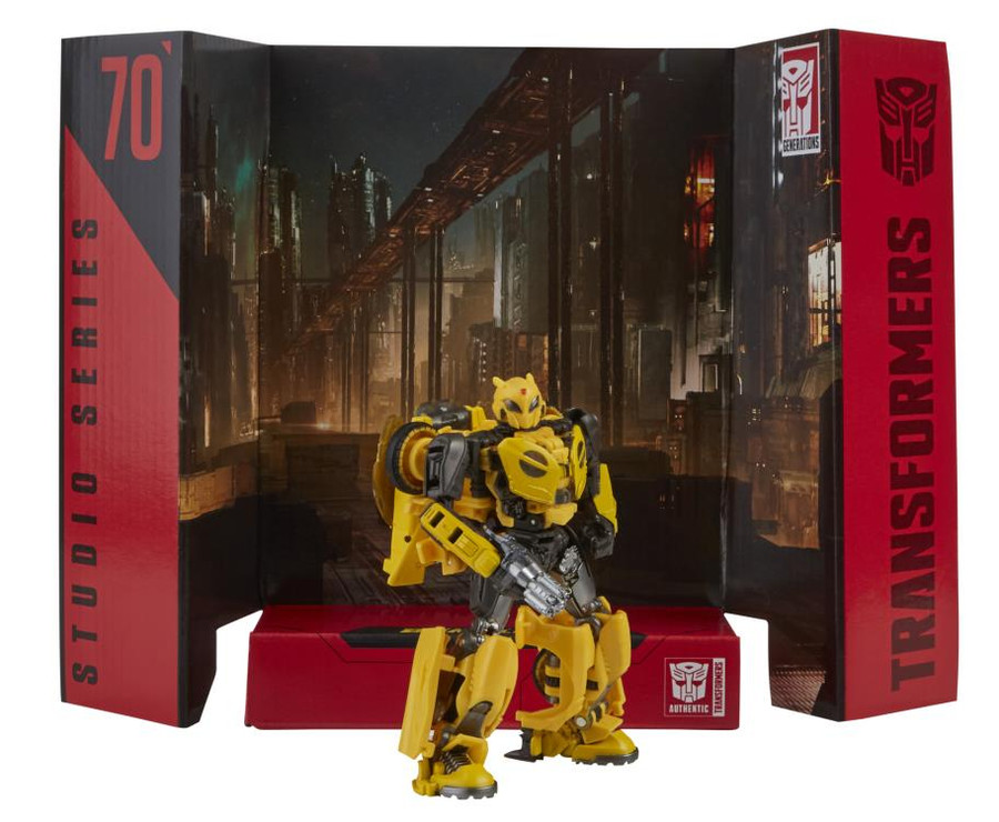 Transformers Generations Studio Series - Deluxe Bumblebee Movie Bumblebee B-127 70