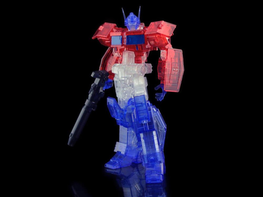 Flame Toys - Furai Model 03C: Optimus Prime IDW Version [Clear] SDCC 2020 Exclusive