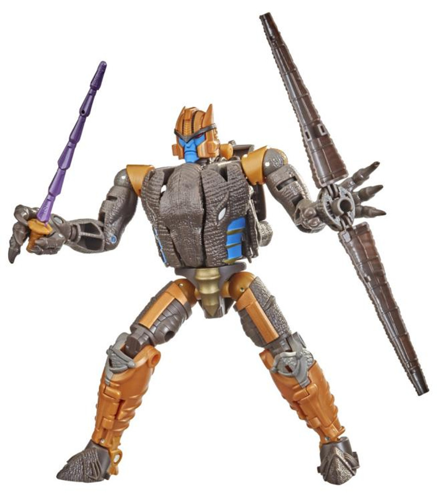 Transformers War for Cybertron: Kingdom - Voyager Class Dinobot