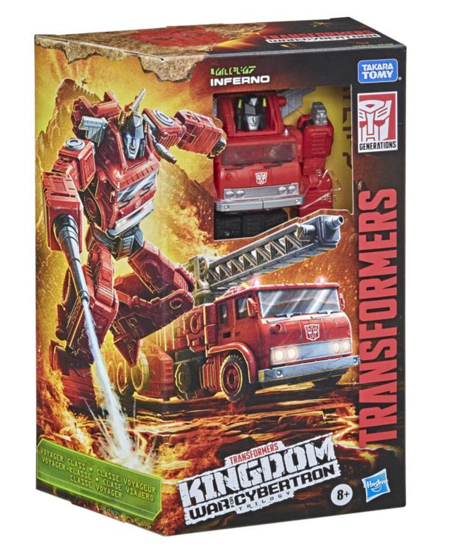 Transformers War for Cybertron: Kingdom - Voyager Class Inferno
