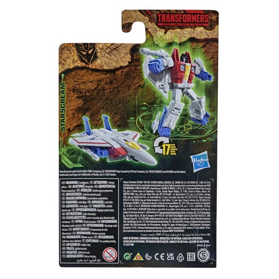 Transformers War for Cybertron: Kingdom - Core Class Starscream