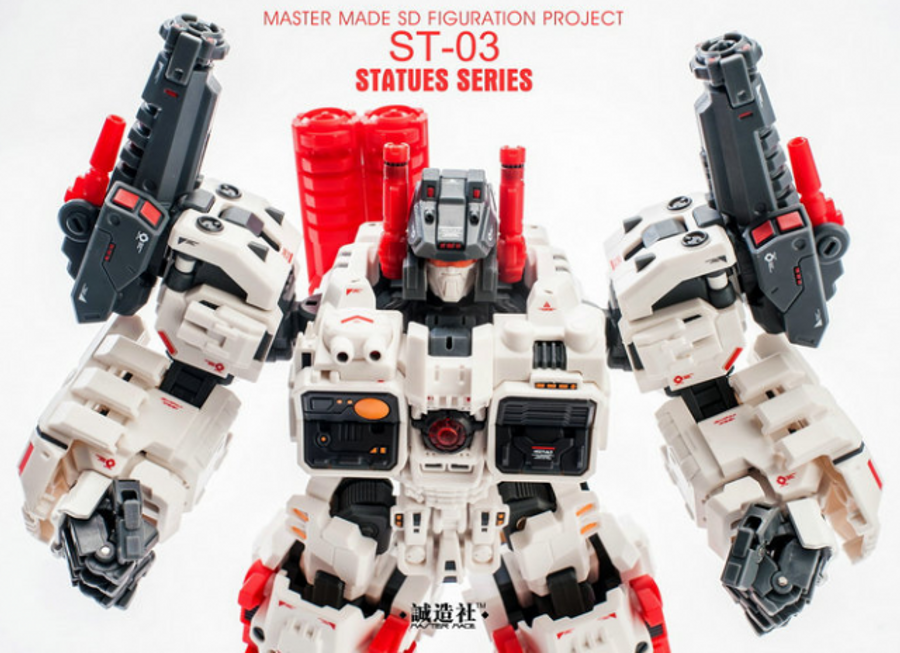 Master Made - SDT-01 Titan and ST-03 Statue Add-On Set