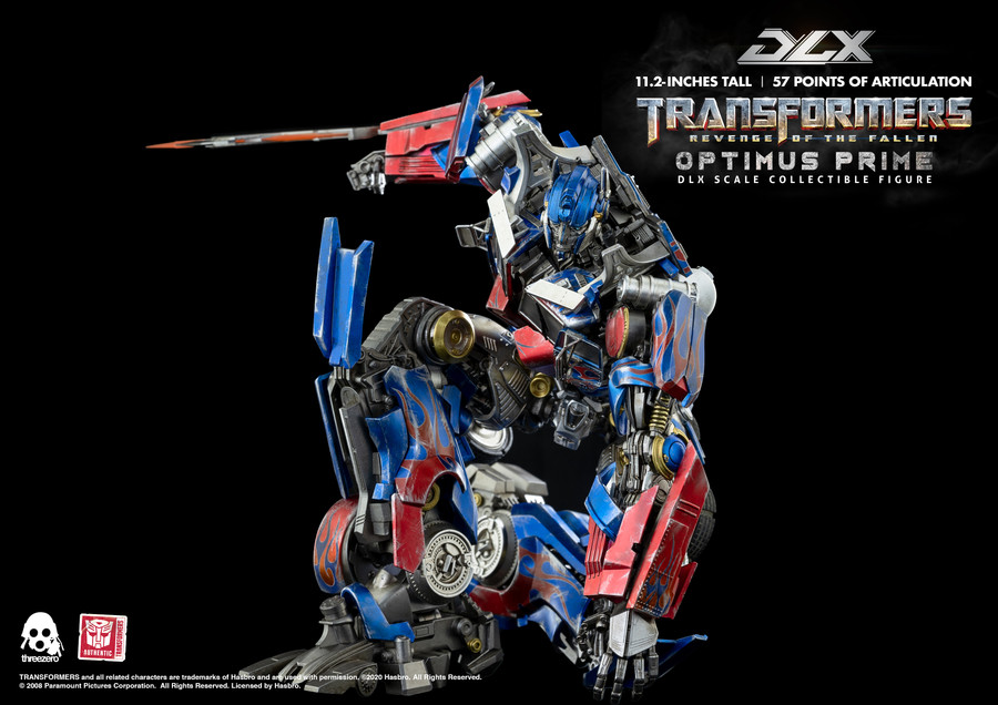 Threezero - Transformers Revenge of the Fallen - DLX Optimus Prime