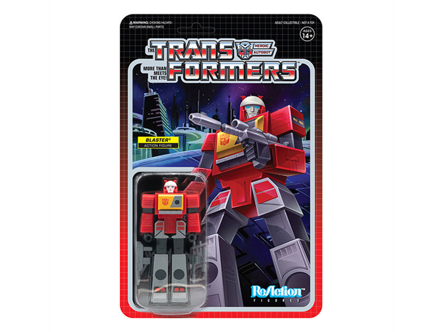 Transformers X Super 7 - Transformers ReAction: Blaster