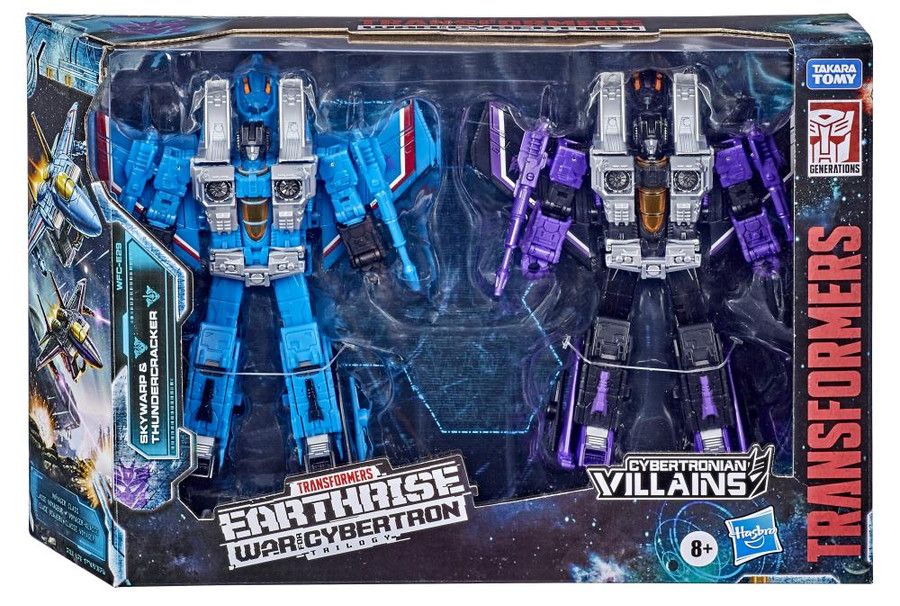 Transformers War for Cybertron - Earthrise - Voyager Skywarp and Thundercracker 2 Pack