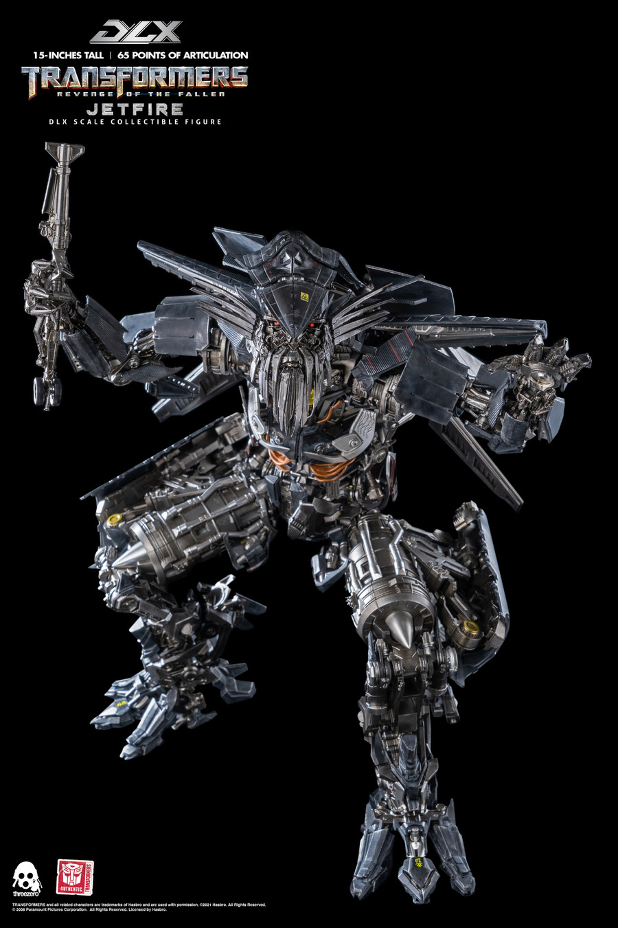Threezero - Transformers Revenge of the Fallen – DLX Jetfire
