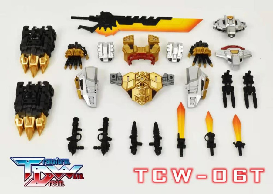 Transform Dream Wave - TCW-06T Generations Selects Volcanicus Upgrade Kit