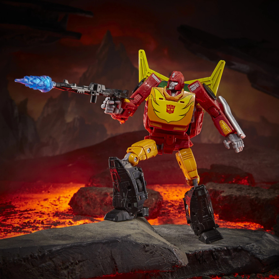 Transformers War for Cybertron: Kingdom - Commander Rodimus Prime (2nd Shipment)