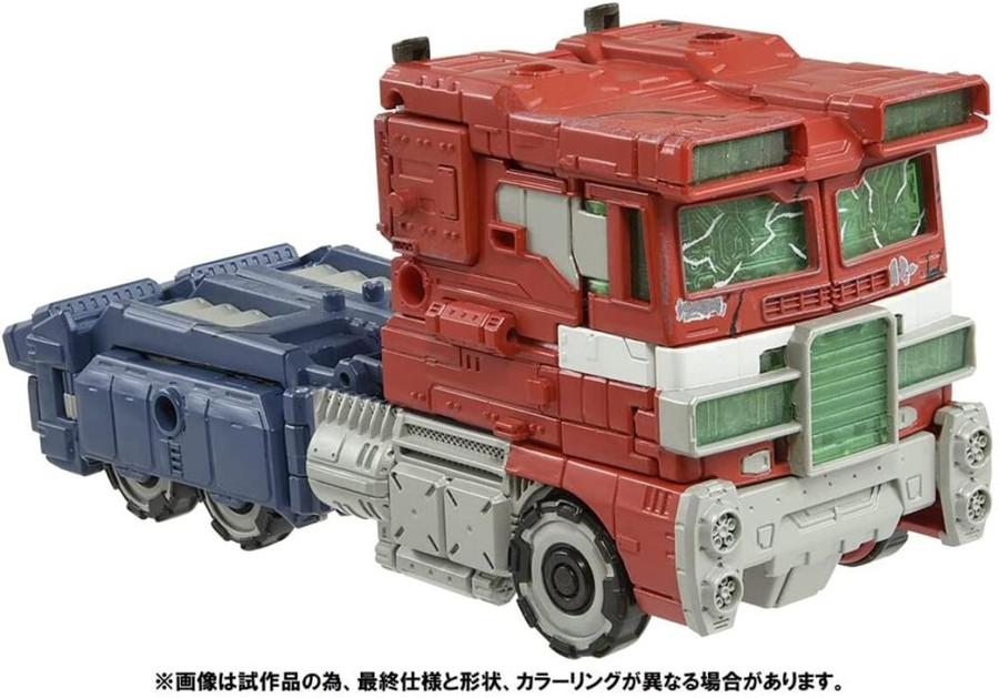 Takara - Transformers War For Cybertron - WFC-01 Voyager Optimus Prime [Premium Finish]