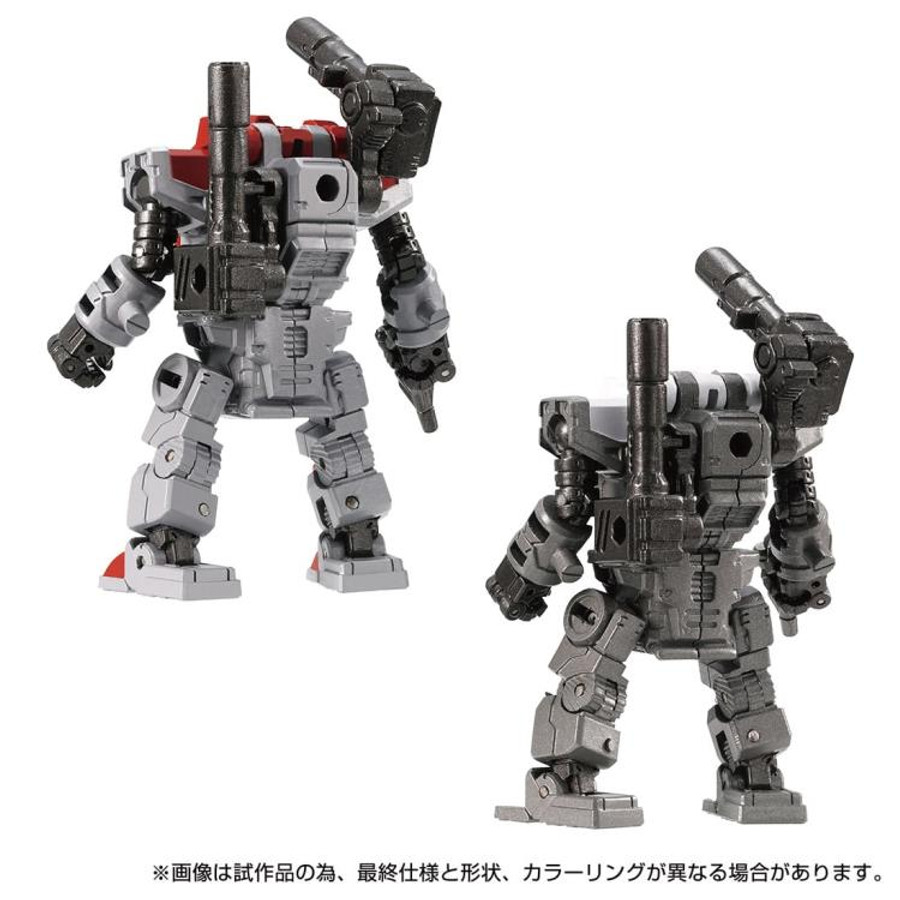 Diaclone Reboot - DA-77 Powered Suits System Set (Version A & B)