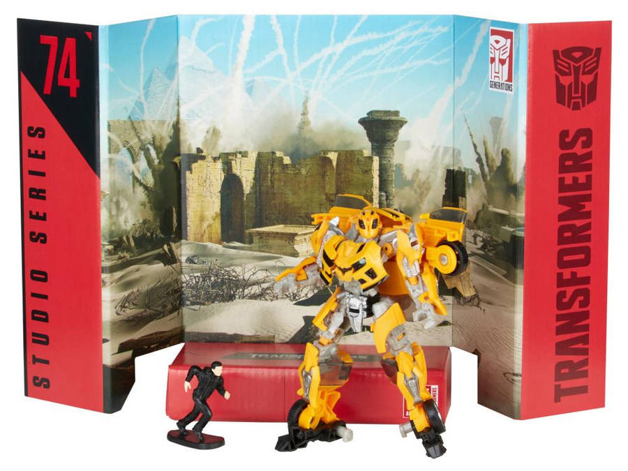 Transformers Generations Studio Series - Deluxe Bumblebee With Sam 74