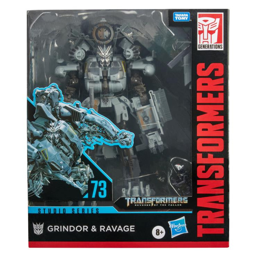 Transformers Generations Studio Series - Leader Class Grindor with Ravage 73