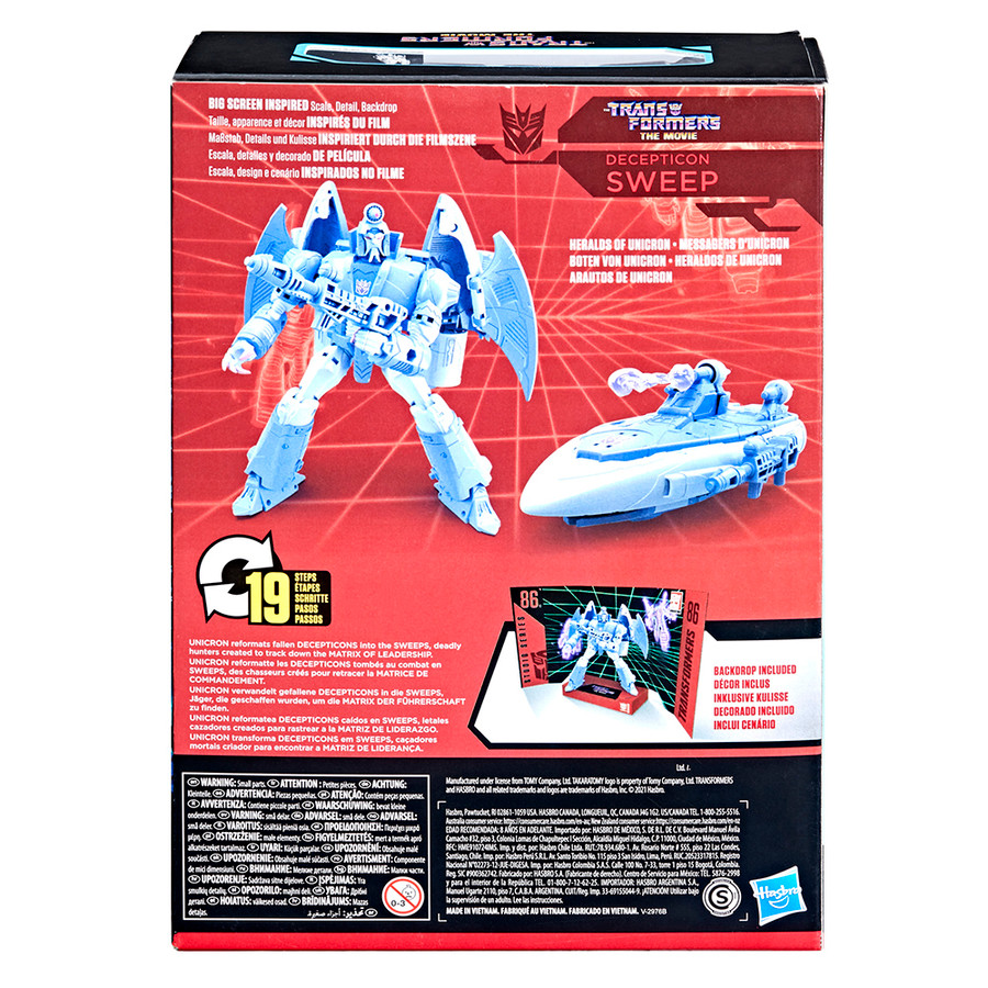 Transformers Studio Series 86-10 - The Transformers: The Movie Voyager Sweep