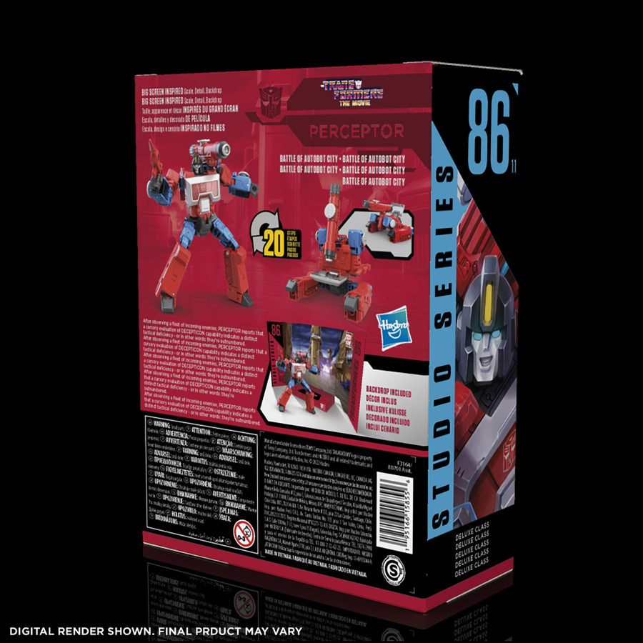 Transformers Studio Series 86-11 - The Transformers: The Movie Deluxe Perceptor