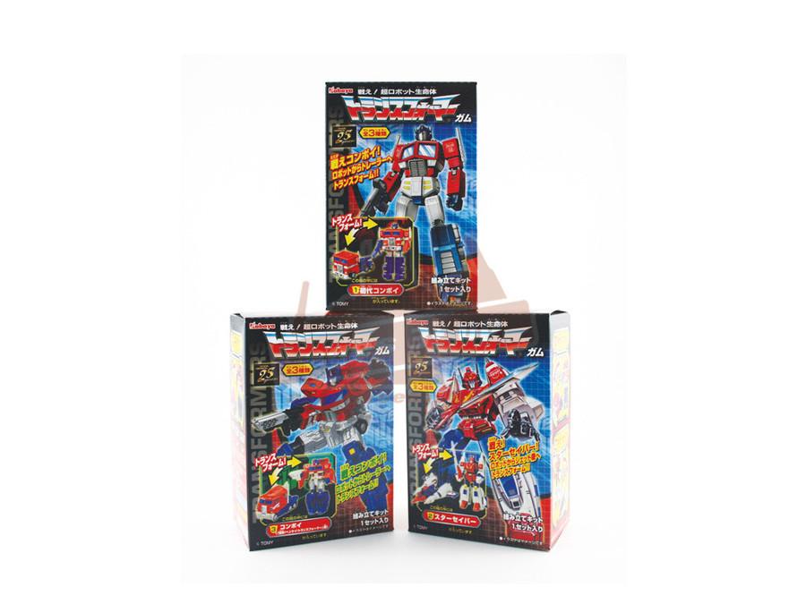 Transformers Gashapon (Capsule Toys) - Set of 3