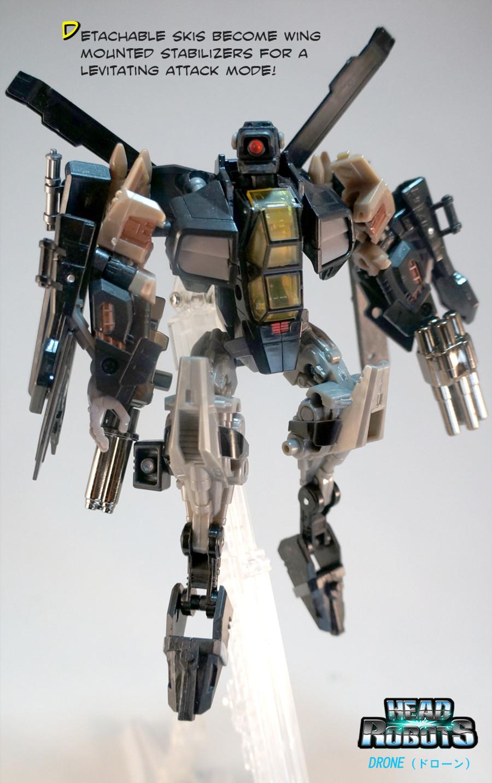 Headrobots - Drone