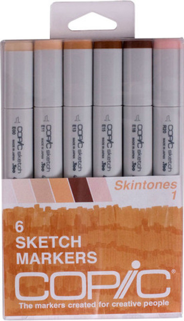 Copic Markers Skin Tones SSKIN1 6 pack