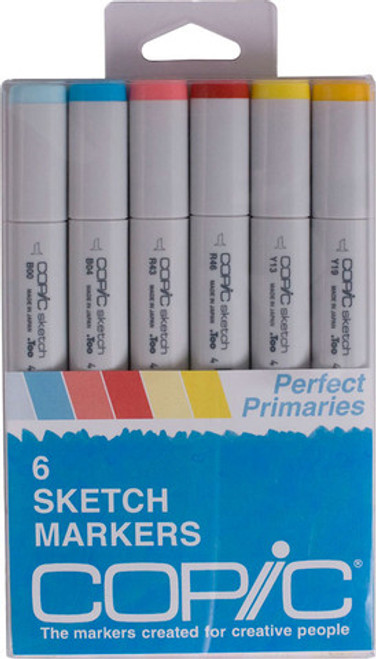 Copic Markers Perfect Primaries  6 pack