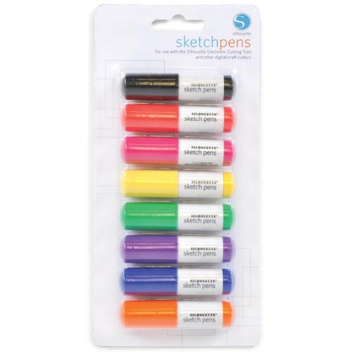 Silhouette Sketch Pens 8-pack