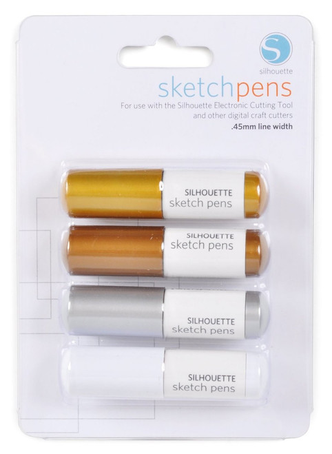 Silhouette Metallic Sketch Pens