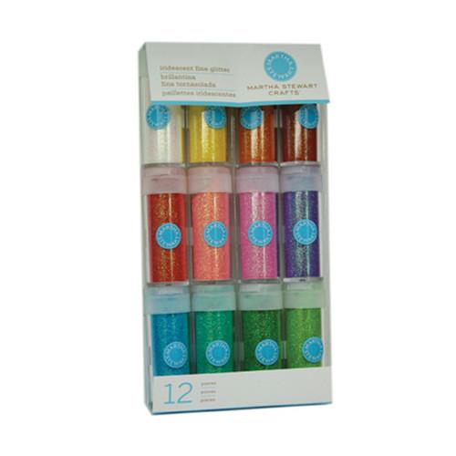 Iridescent Fine Glitter 12 pack