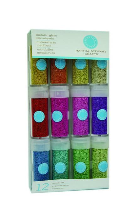 Metallic Glass Microbeads 12 pack