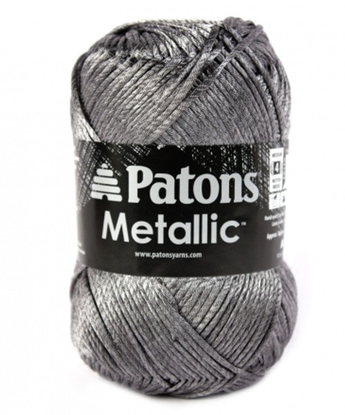 Patons Metallic Yarn - steel