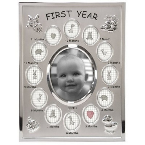 Malden Babys First Year Collage Picture Frame Crafts Plus