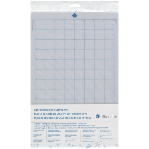 Silhouette Cut Mat 8 inch Light Hold Cut-Mat-8LT-3T